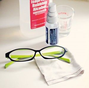 DIY Eyeglasses Cleaning Solution