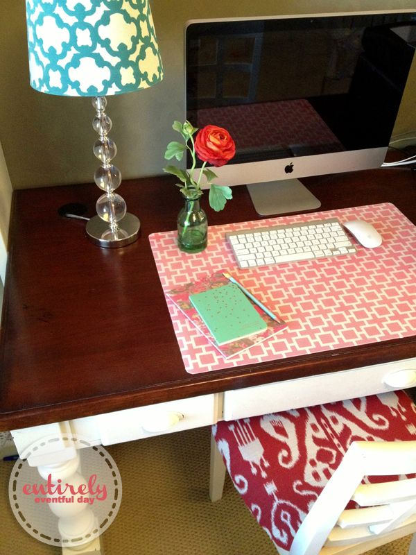 How To Make A Cool Custom Desk Pad Best DIY Tricks
