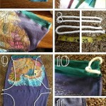 How To Make a Backpack From a Shirt