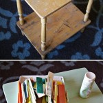 How To Make a Paint Stick Table Top