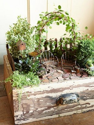 How to Create a Magical Miniature Garden