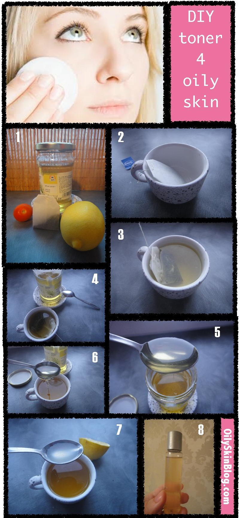 DIY MATTIFYING TONER FOR OILY SKIN
