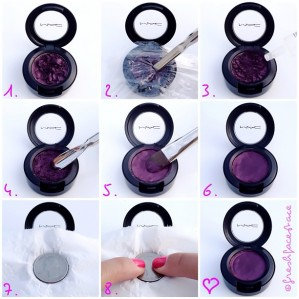 How-to Fix broken eye shadow!
