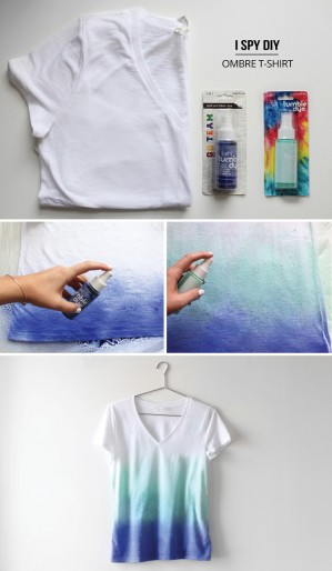 DIY Ombre T-Shirt