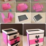 DIY: Make Up Storage