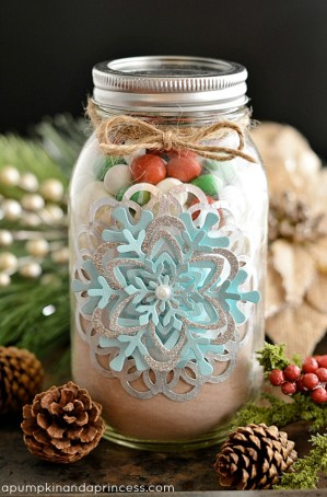Hot Cocoa Mason Jar Gift