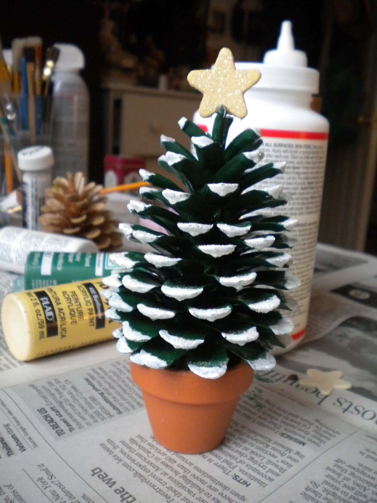 Pine Cone Christmas Tree | Best DIY Tricks