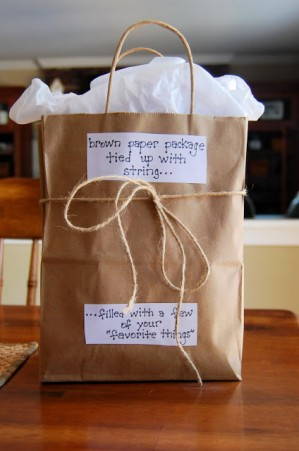 Simple teacher gift idea