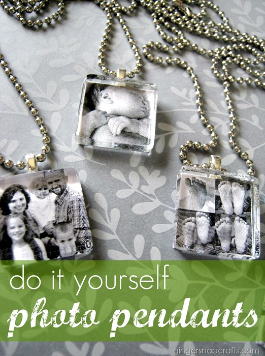 Tutorial For Photo Pendants