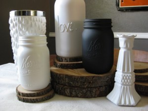 Reduce, Reuse, Recycle: Repeat - Mason Jars