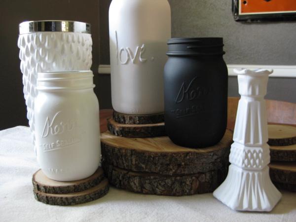 Reduce, Reuse, Recycle: Repeat - Mason Jars