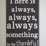 """Thankful"" Wall Art"