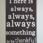 """Thankful"" Wall Art"